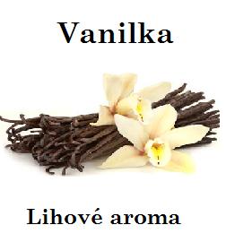 Vanilka - lihové aroma 100 ml