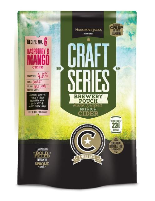 Mangrove Jack's Malinovo mangový cider - set