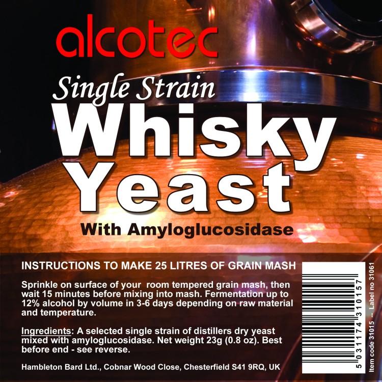 Whisky kvasnice 12% (pro obilný a kukuřičný kvas)