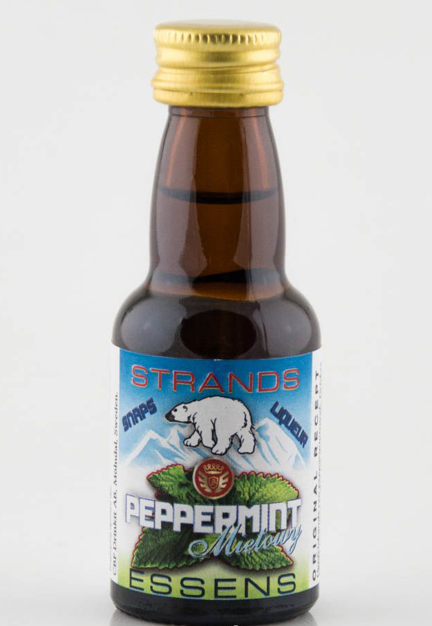 Peprmintový likér - esence 25 ml