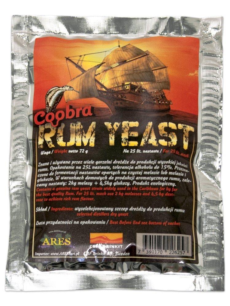 Coobra Rumové kvasinky