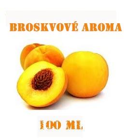 Broskvové aroma 100 ml