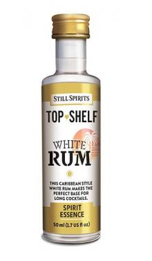 Karibský bílý rum – esence 50 ml