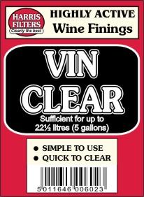 Vin Clear – čiřící prostředek na pivo, víno a cider