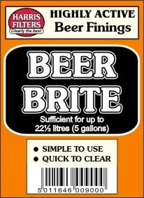 Beer Brite - čiřidlo piva na 22,5 litru