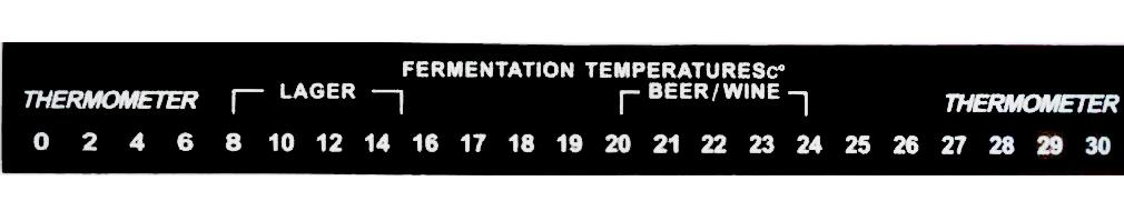Teploměr nalepovací 0 - 30°C