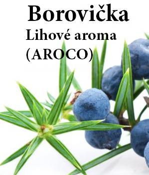 Borovička - aroma 100 ml (aroco)