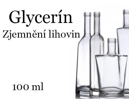 Glycerín 99,5% - zjemnění lihoviny