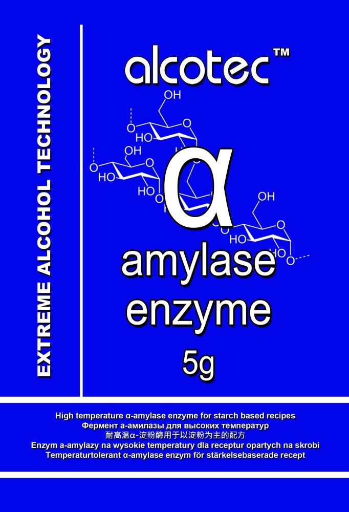 Alfa amyláza Enzym