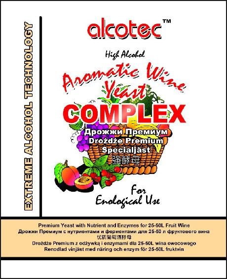 Vinné kvasinky - aromatic