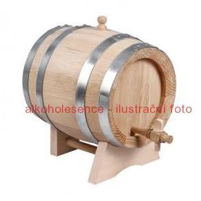 Dubový soudek 2 litry