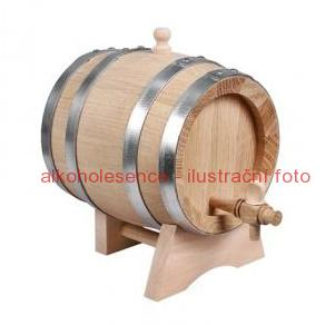 Dubový soudek 3 litry
