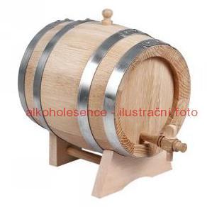 Dubový soudek 5 litrů