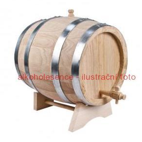 Dubový soudek 8 litrů