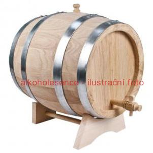 Dubový soudek 10 litrů