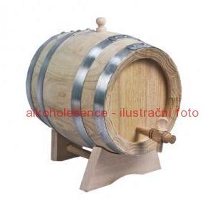 Akátový soudek 2 litry