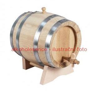 Akátový soudek 3 litry
