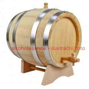 Akátový soudek 8 litrů