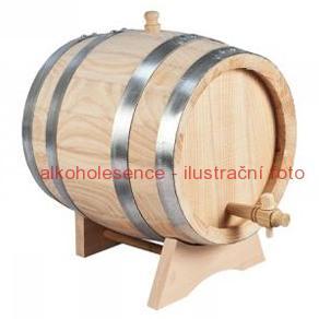 Jasanový soudek 8 litrů