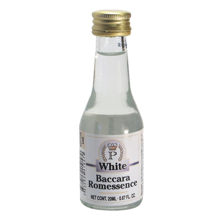 Baccara White Rum - esence 20 ml