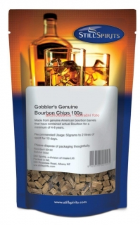 Gobblers Genuine Bourbon Chips 100 g