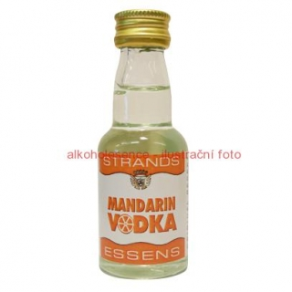 Mandarinková vodka - esence 25 ml