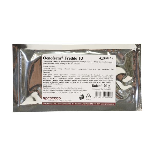 Oenoferm® Freddo kvasnice 20 g - pro nízké teploty (pro mošt)