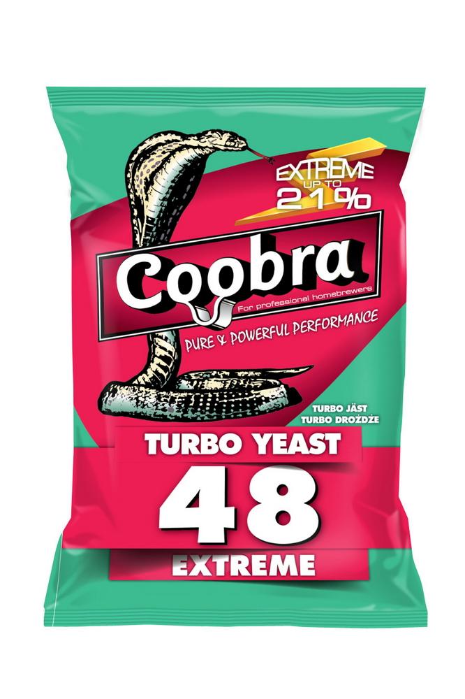 COOBRA 48 Extreme kvasnice 14-21% (pro cukerný kvas)