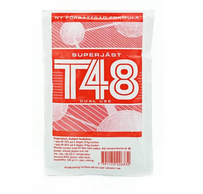 T48 Turbo kvasnice 48 hodin 14-20% (pro cukerný kvas)