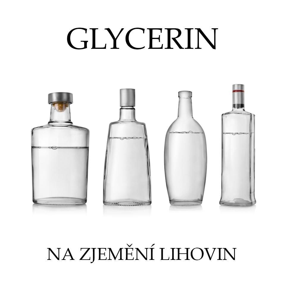 Glycerin 99,5% - zjemnění lihoviny - 100 ml